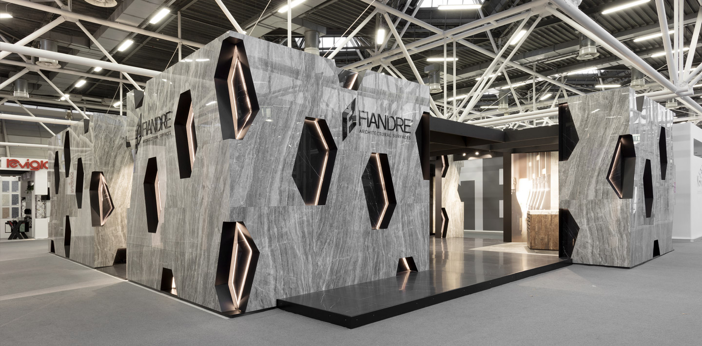 Expositions - CERSAIE 2018 / Fiandre Architectural Surfaces