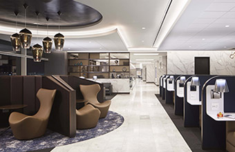 UNITED AIRLINES POLARIS LOUNGES