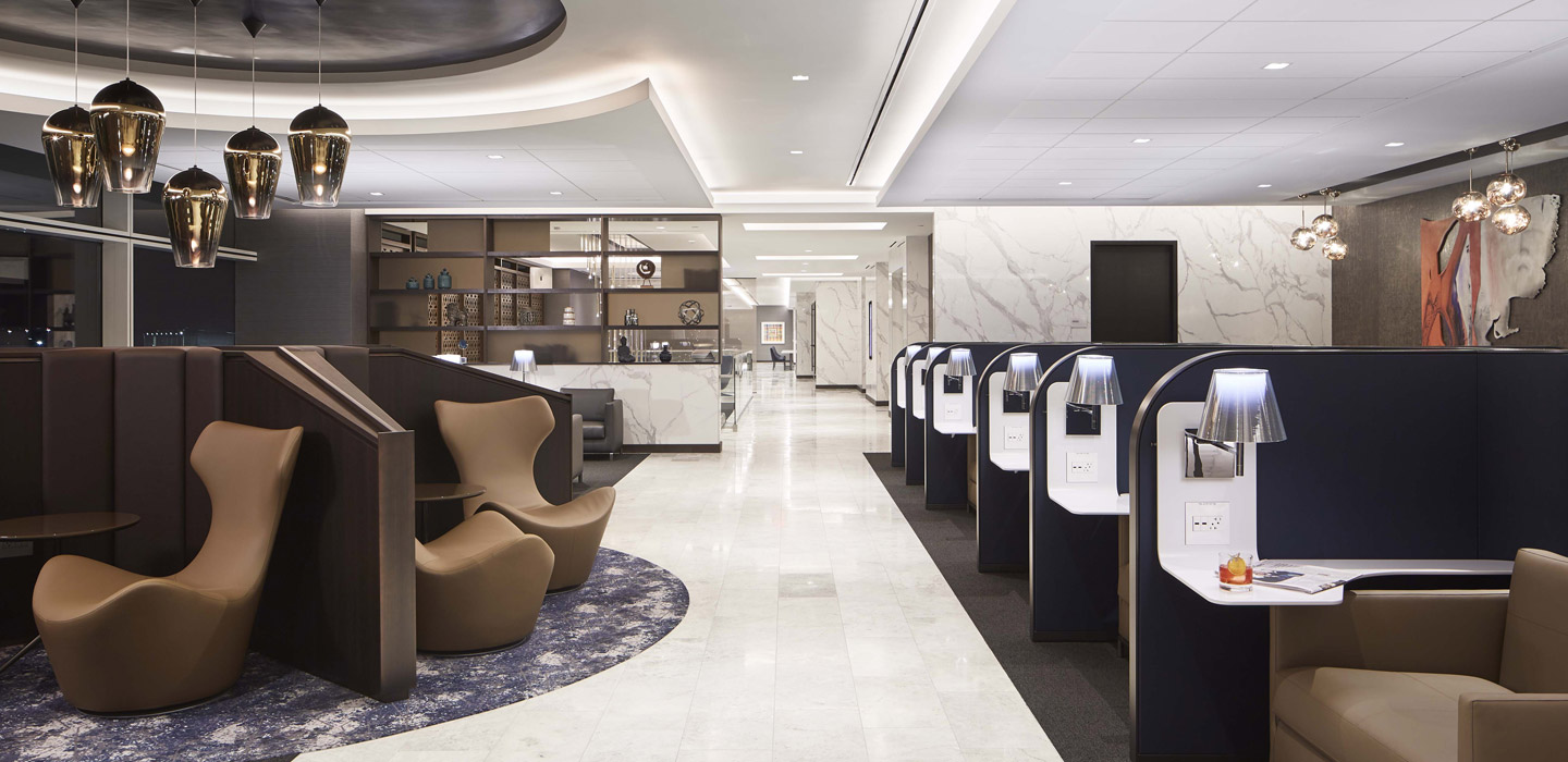 Gares et Aeroports - UNITED AIRLINES POLARIS LOUNGES